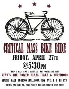 Critical mass poster letter size