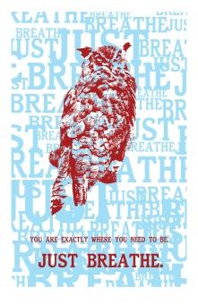 owl print design to print