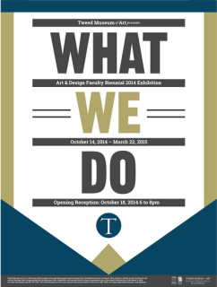 Tweed What We Do poster